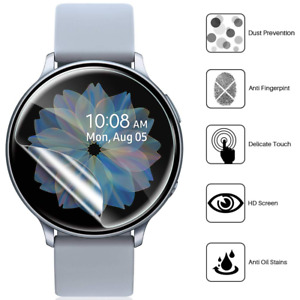 Samsung Galaxy Watch Active 2 Panzerfolie Schutzfolie Schutzglas Full-Cover