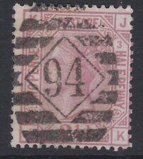 GB QV 1876 2½ rosy mauve plate 3 pl3 JK wmk orb sg141 spec J4