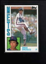 1984 TOPPS #54 JESSE OROSCO AUTHENTIC AUTOGRAPH SIGNATURE AZ2439