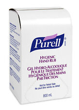 Gojo Purell Instant Hand Sanitizer hygienic hand rub gel 800ml Refill Pack