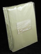 """King Size 12"""" Extra Deep Fitted Sheet 100% Cotton Sateen 220 TC Green"""