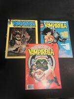 vampirella warren magazine lot No 20 , 68 , 82 Different Grade