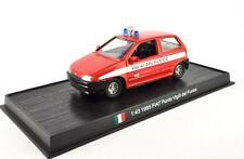 Fire Engine Italy 1995 Fiat Punto Vigili del Fuoco metal 1/43 Fire Vehicle