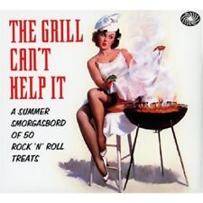 The Grill Can't Help It 2-CD NEW SEALED Rock 'N' Roll Sputniks/Del Vikings+