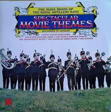 MASS BRASS OF ROYAL ARTILLERY BAND - SPECTACULAR MOVIE THEMES - SEALED LP