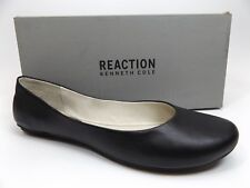 KENNETH COLE REACTION FLATS WOMEN SLIP ON BY LE BLACK SZ 9.0 M NEW DISPLAY D9595