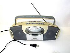 Vintage Gpx C843Sd Portable Stereo Am/Fm Cassette Boom Box-Works Great