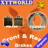 FRONT REAR Brake Pads Shoes YAMAHA CW 50 RS BWs 1999