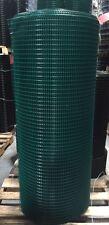 """Pvc Coated Wire Mesh 0.5x1 16G 48""""x100' Green Pvc"""