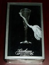Gorham Christmas Tree Ornament 2000 L/A Flute Silver Made In Usa W/Box Ex/Nm