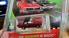 Rare Model Motoring Candy Painted RED / SILVER STRIPES MUSTANG HARD TOP Aurora