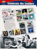 CELEBRATE THE CENTURY 1950'S C#3187 MINT SHEET 33c BROOKMAN'S cv $$24.50