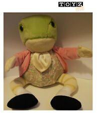 "1998 Eden Toys - Beatrix Potter - JEREMY FISHER FROG 9"" Plush Toy"