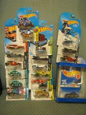Hot Wheels Cars lot Of 17 --Batmobile--70 Chevelle Wagon--Volkswagon Beetle NEW