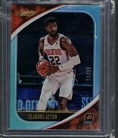 Suns Deandre Ayton Mint 2020-21 Panini Absolute Teal Parallel #26/49