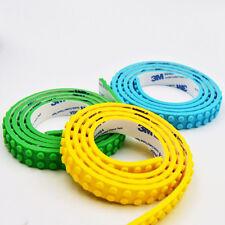 Compatibile con nastro flessibile LEGO/STRISCIA 50cm UK Stock Ora, 9 colori!!!