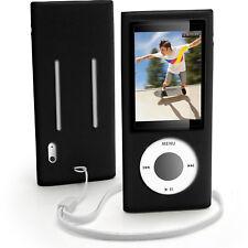 Housse silicone noir pour apple ipod nano 5th gen 5G housse support
