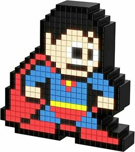 NEW DC Comic Superman Pixel Pals Lighted Superhero Figure Collectable Light Gift