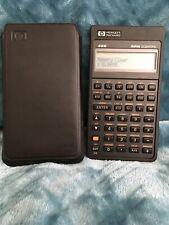 New ListingVintage Hewlett Packard 42S Rpn Scientific Calculator Working w/ Case