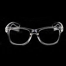 Men's Women VINTAGE RETRO Style Clear Lens EYE GLASSES Transparent Fashion Frame