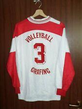 MATCH WORN! 1980's #3 TSV Grafing Volleyball Jersey Shirt Erima size L GERMANY