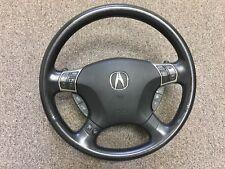 2006 Acura Rl Steering Wheel With Airbag Black Used