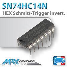 SN74HC14N - HEX Schmitt-Trigger Inverter DIP 14 - Lots multiples, prix dégressif
