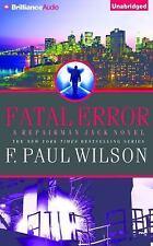Repairman Jack: Fatal Error 14 by F. Paul Wilson (2014, CD, Unabridged)