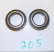 """9"""" Ford GENUINE Timken Carrier Side Bearings & Races 3.06""""  LM603011 LM603049"""