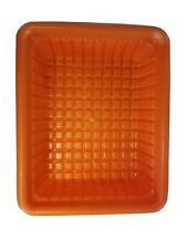 Step 2 Pretend Play Replacement Orange Bin Tray Basket Tool Bench or Kitchen Euc