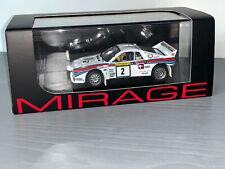 RALLY 1/43 MIRAGE HPI LANCIA RALLYE 037 MARKKU ALEN 1000 LAKES 1984 WRC ERC