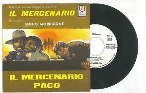 Vinile 45 giri Ennio Morricone Il Mercenario