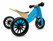 Kinderfeets 2 in 1 Tiny Tot Trike and Balance Bike- Blue