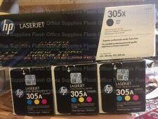 Genuine HP 305A 305X CE410X CE411A CE412A CE413A Laserjet PRO 300 400 IVA INC