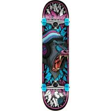 Speed Demons Baboon Factory Complete Skateboard Pink Blue 7.75""