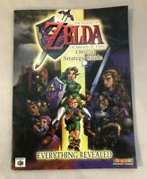 The Legend Of Zelda Ocarina of Time Official Strategy Guide N64 Brady Games