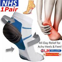 Compression Sleeve Support PLANTAR FASCIITIS Foot Pain Valgus Heel Ankle Socks