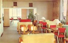"CHICAGO, IL Illinois  ALLERTON HOTEL ""Tip Top Tap"" Lounge Area  Chrome Postcard"