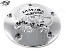 LIVE TO RIDE IGNITION COVER FOR HARLEY IGNITION SYSTEM COVER FITS TWIN CAM 99-UP