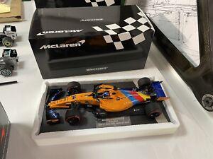 Minichamps 1:18 Fernando Alonso 2018 Mclaren mcl33 'last race' edition