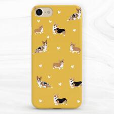 Cachorro De Perro niño Corgi Animal Funda Para iPhone 6S 7 8 Xs XR 11 Pro Max SE Plus