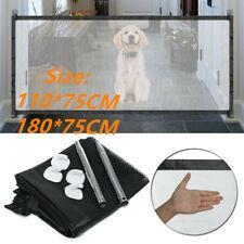 Portable Magic Mesh Pet Cat Dog Gate Door Barrier Safe Nets Guard Install Fence
