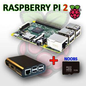 RASPBERRY PI 2 - Model B 1GB RAM, 900 MHz Quad Core CPU, NOOBS
