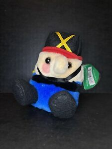Puffkins Swibco Tommy the Toy Soldier Bean Bag Plush Toy NWT Limited Edition
