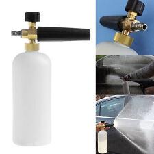 Adjustable 1L Snow Foam Lance Washer Car Wash Gun Soap Pressure Washer Bottle