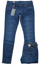 G-STAR 3301 Low Super Skinny Benwick Raw Stretch Damen Denim Jeans Hose L32 NEU