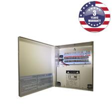 CCTV Power Supply Box 18 Ports 20 Amp 12V DC Output