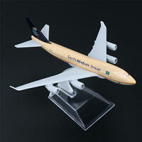16cm Boeing 747 Saudi Arabian Airlines Aircraft Plane Diecast Model Toys Hobbies