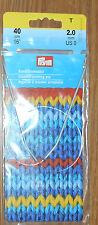 "New 16"" Prym Circular  Knitting Needles size 10"