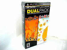 Patapon & LocoRoco Dual Pack for PSP Portable    ***NEW SEALED***